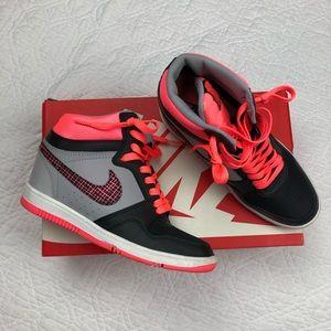 Nike Force Sky High wedge sneakers 7.5